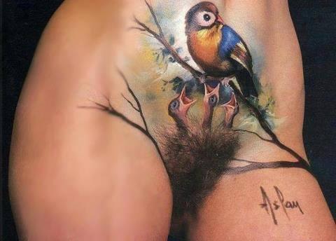 Tatuaże W Miejscach Intymnych